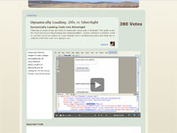 Hyper-video screencast site