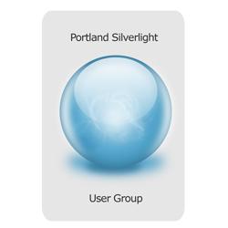 Portland Silverlight User Group Logo